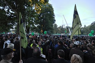 Stuttgart 21 - More than 50,000 people demonstrated against Stuttgart 21 on 1 October 2010