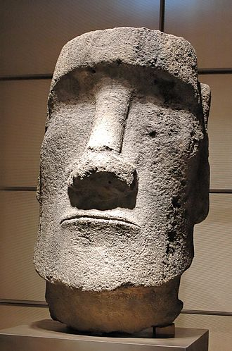 Relocation of moai objects - Image: Moai Easter Island Inv MH 35 61 1