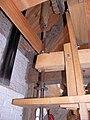 Molen Kilsdonkse molen, Dinther, oliemolen vuister aandrijfas roerijzer.jpg