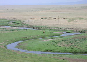 Ubsunur Hollow - Mongolian steppe