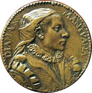 Diana Scultori - Image: Monogrammista t.r., medaglia di diana guisi, moglie di francesco capriani architetto, detto il Volterrano