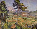 Mont Sainte-Victoire and the Viaduct of the Arc River Valley, by Paul Cézanne.jpg