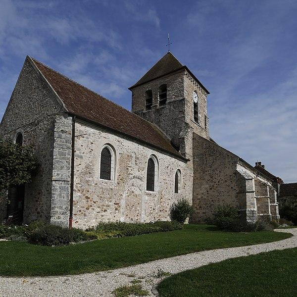 Église Saint-Germain de Montceaux-lès-Provins.
