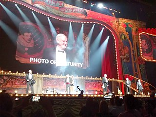 <i>Monty Python Live (Mostly)</i> 2014 film by Eric Idle