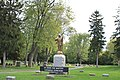 Monument to Reverend Kennedy, Saint John the Baptist Catholic Cemetery, Ypsilanti, Michigan. - panoramio.jpg