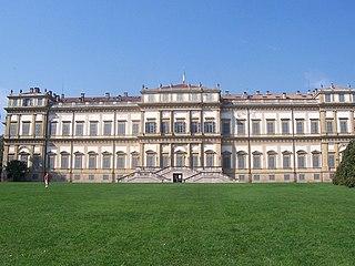 Royal Villa of Monza château