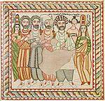 mezepoka ikono prezentante Ephrem la sirian.