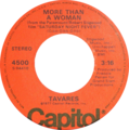 More than a Woman by Tavares Side-A US vinyl.png