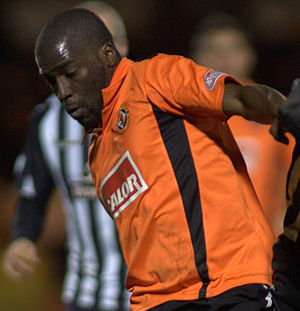 Morgaro Gomis - Gomis playing for Dundee United