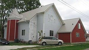 Morning Sun, Iowa - A former church on the city's southeastern side