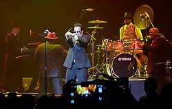 Morris Day and The Time im Jahr 2013