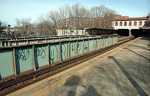 Morris Park (IRT Dyre Avenue Line) - Image: Morris Park Station