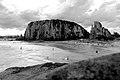 Morro e Praia da Guarita vistos do Parque Estadual de mesmo nome.jpg