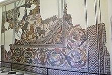 Mosaico Mito de Orfeo. Siglo IV d.C. Villa Pesquero. Pueblonuevo Guadiana.-III.jpg