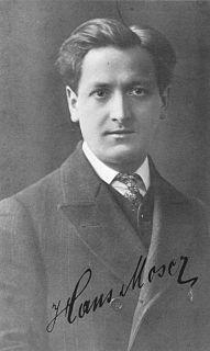 Hans Moser (actor) Austrian actor