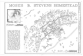 Moses B. Stevens Homestead, Approximately 19 miles east of U.S. Highway 350, Model, Las Animas County, CO HABS COLO,36-MOD.V,8- (sheet 1 of 1).png