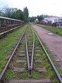 Most kolejowy na Słupią - lipiec 2012.jpg