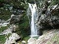 Mostnica waterfall in Voje.jpg