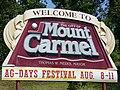 Mount Carmel Welcome.JPG
