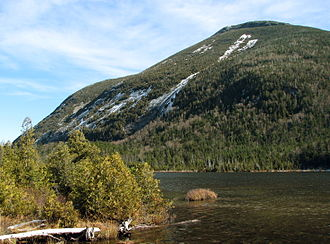 Mount Colden - Image: Mount Colden from Lake Colden near the Interior Outpost