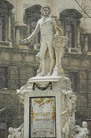 Viktor Oskar Tilgner - Mozart Monument