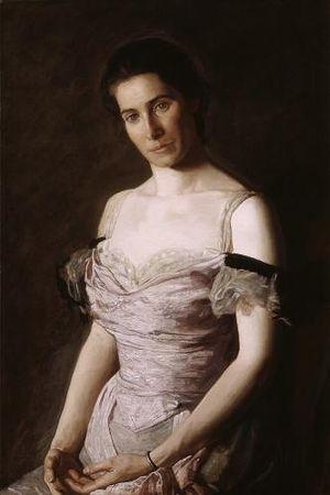 Mary Hallock-Greenewalt - Portrait of Greenewalt by Thomas Eakins