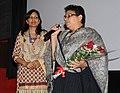 Ms. Deedi Damodaran (T. Damodaran's daughter) at the presentation of the -KALA PANI - A Homage to T. Damodaran, during the 43rd International Film Festival of India (IFFI-2012), in Panaji, Goa on November 29, 2012.jpg