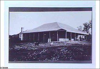 Mount Eba Station - Mount Eba Homestead ca.1912