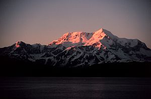Mount Saint Elias - Mt. Saint Elias from Icy Bay