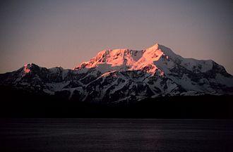 Mount Saint Elias - Mt. Saint Elias from Icy Bay