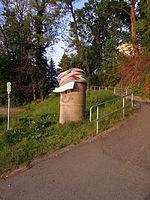 Muldethalbahnradweg Pöppelmannbrücke rechtsufrig in Grimma im Mai 2015.jpg