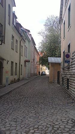 вид улицы от улицы Мюйривахе