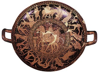 Penthesilea Painter - Image: Museo Archeologico Ferrara kylix