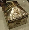 Museo diocesano nonantola, reliquiario a cofanetto dei santi senesio e teopompo, fine XII- XIII sec 02.JPG