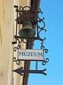 Museum sign. - 5 Széchenyi Street, Eger, 2016 Hungary.jpg