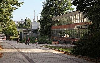 Myyrmäki City District in Finland