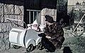 Nő, gyerek és kutya 1942-ben. Fortepan 61664.jpg
