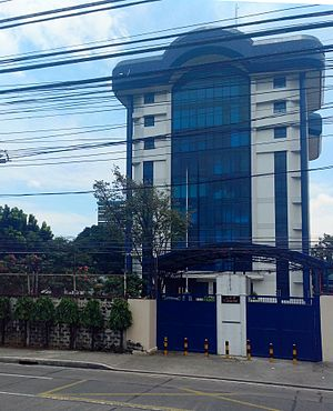National Intelligence Coordinating Agency - Main office of NICA along V. Luna Avenue in Quezon City