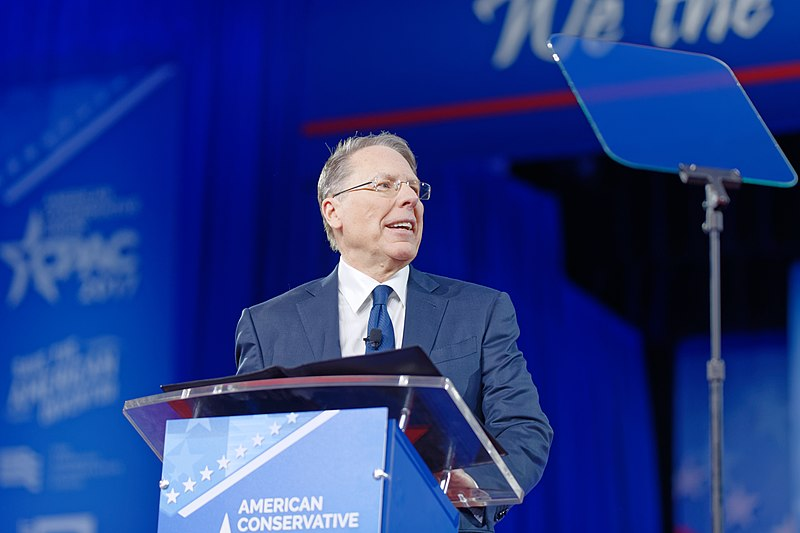 File:NRA Wayne LaPierre at CPAC 2017 on February 24th 2017 by Michael Vadon 04.jpg