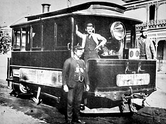 Sydney Steam Motor Tram -