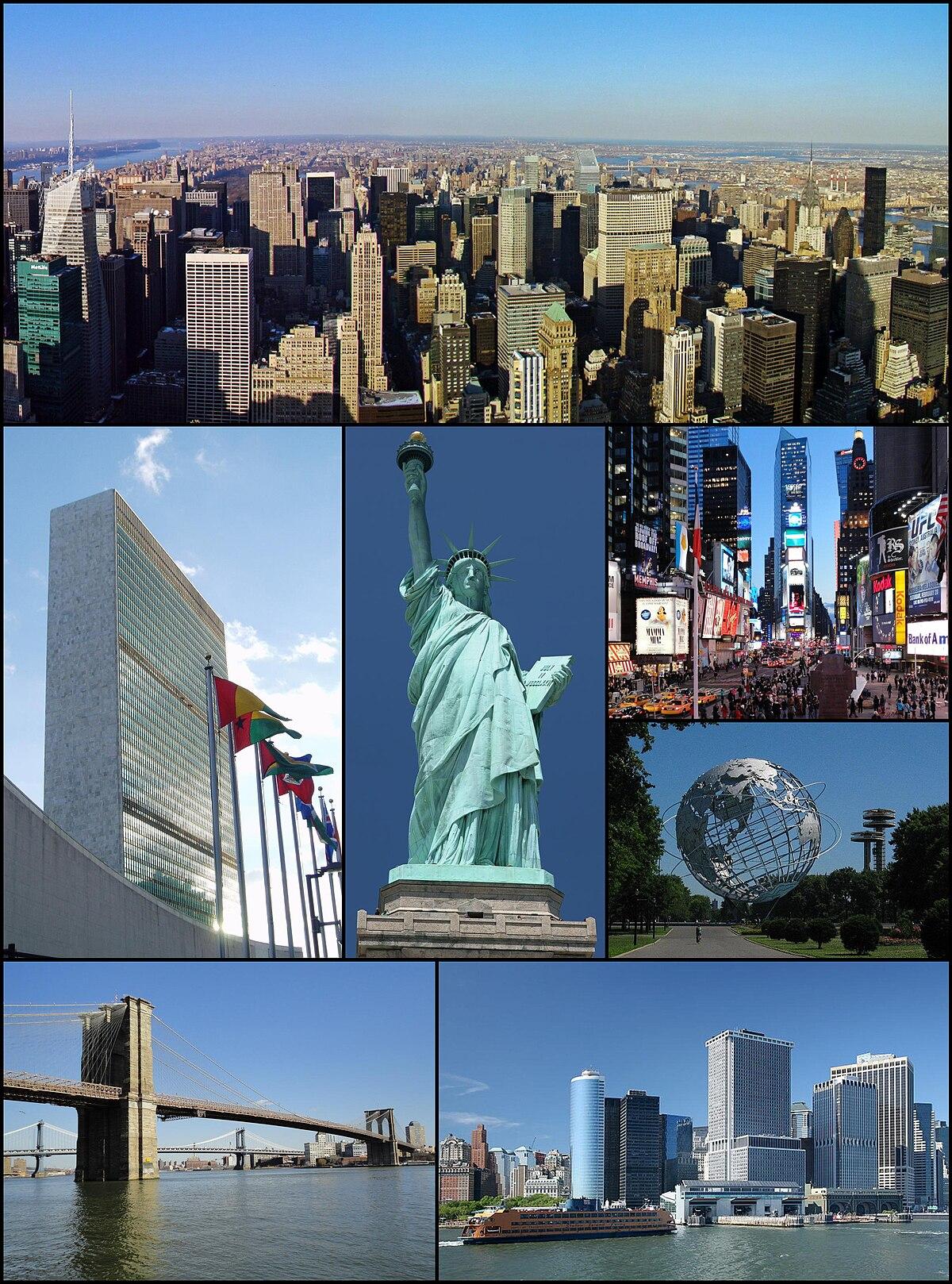 Bandar Raya New York Wikipedia Bahasa Melayu Ensiklopedia Bebas