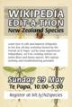 NZspecies 2016 Editathon flier.png
