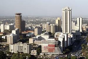 Timeline of Nairobi - View of Nairobi, 2007