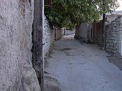 Одна из улиц в Ордубаде