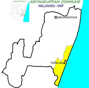 Nallavadu - Nallavadu Village in Ariyankuppam Commune