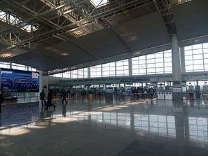 Nanchang Changbei International Airport - Image: Nanchang Changbei International Airport 20150328 111402
