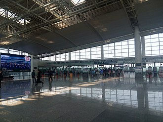 Nanchang Changbei International Airport - Image: Nanchang Changbei International Airport 20150328 111402
