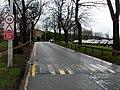 Narrow road near Gartnavel Hospitals - geograph.org.uk - 668478.jpg