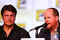 Nathan Fillion & Joss Whedon (7594503482).jpg