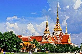 Chamkar Mon Section District in Phnom Penh, Cambodia